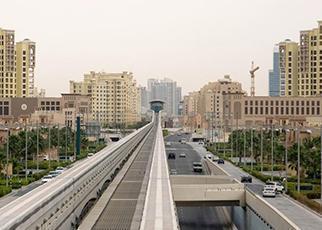 PALM JUMEIRAH MONORAIL DUBAI, UAE
