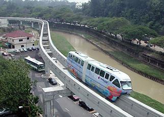 KUALA LUMPUR MONORAIL (KL PRT), MALAYSIA